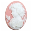 cameo, resin jewelry, jewelry making, 40 x 30mm, 0