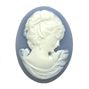 cameo, resin jewelry, jewelry making, 40 x 30mm
