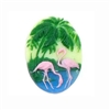 cameo, flamingo, jewelry making, 25x18mm