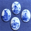 porcelain cameos, decal cameos, B'sue Boutiques, 07251, made in Japan, decal transfers, flat back cameos, jewelry making, jewelry supplies, vintage jewelry supplies,  nautical cameos, ship cameos, light houses, wind mill cameos, vintage cameos