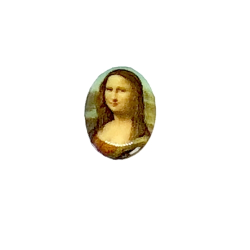 cameo, Mona Lisa, jewelry making, 18 x 13mm,09429, B'sue Boutiques, jewelry making supplies, vintage jewelry supplies, cameo findings, jewelry findings, vintage jewelry