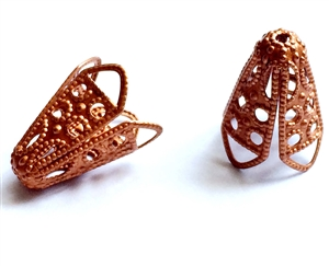 brass beads, filigree beads, gingerbread,02851, argyle beads, antique copper, vintage jewelry supplies, beading supplies, jewelry making supplies, ball beads