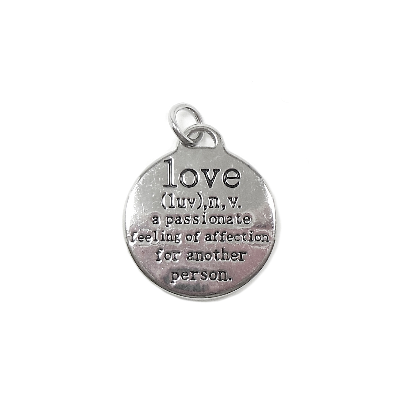 love charms, antique silver, jewelry making