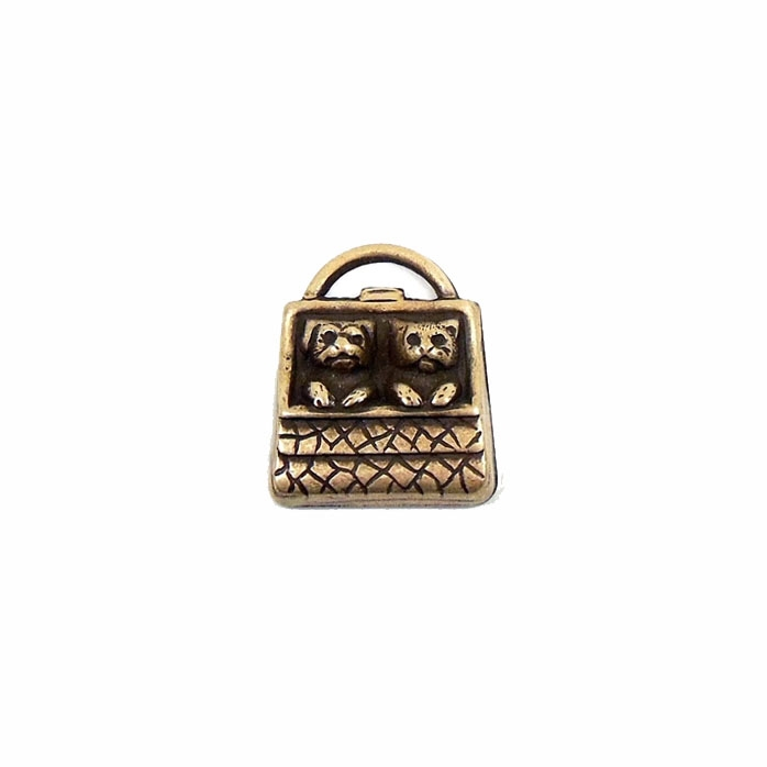 Dog and Cat Charms, Dog charms, Cat charms, Purse charms, Kittens and Puppies, 03076, B'sue Boutiques, nickel free jewelry supplies, brass charms, jewelry charms, US made jewelry supplies, brass ox, antique brass