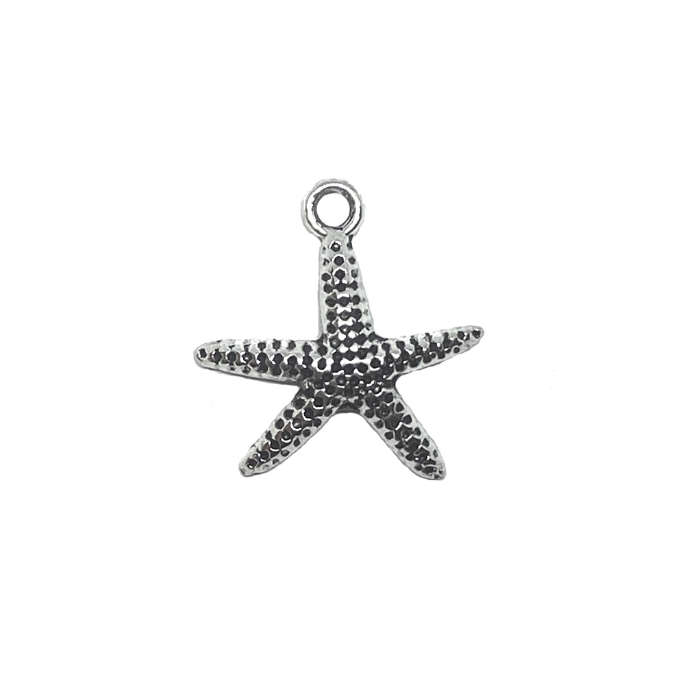 starfish charms, sea charms, jewelry making, 03270, sea life, ocean, beach, jewelry supplies, B'sue Boutiques