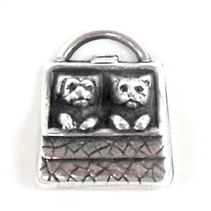 brass charms, puppies and kittens, jewelry making, 04648, silver plate, antique silver, silverware silver plate, animal charms, US made, Bsue Boutiques, pet charms