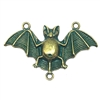 fat bellied bat, bronze, aqua patina, bat, bat casting, 48 x 30mm, bat jewelry, jewelry making, vintage supplies, jewelry supplies, jewelry findings, B'sue Boutiques, animal, stamping, animal stamping, 0510