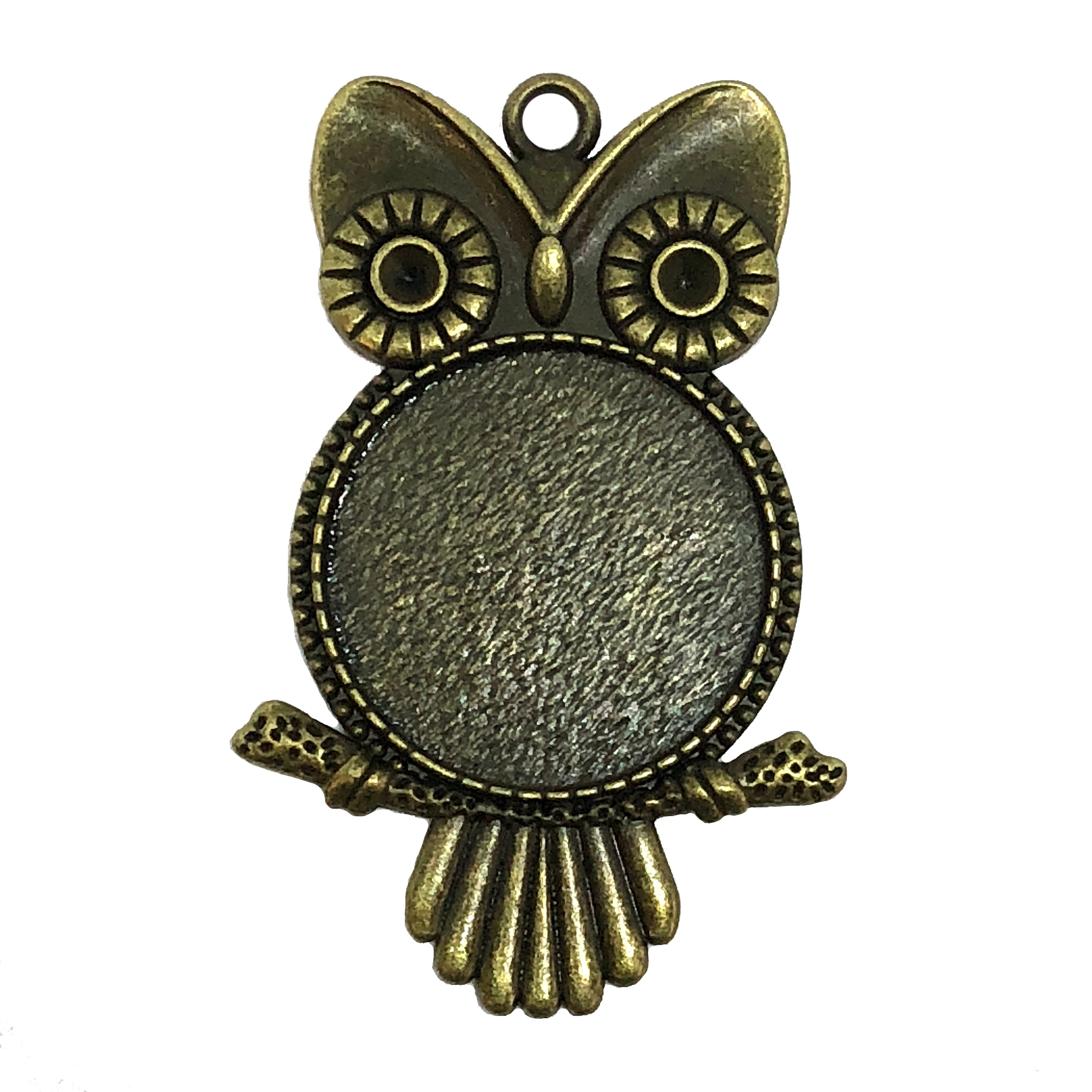 owl charms, owl pendant, stamping, 07873, jewelry supplies, B'sue Boutiques, US made jewelry parts, jewelry findings, bird jewelry, charm, pendant, birds, owl