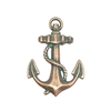 brass anchor, anchor charm, aqua copper patina, antique copper, vintage jewelry supplies, ocean jewelry, sea jewelry, brass, anchor, beach jewelry, jewelry findings, jewelry making, vintage supplies, jewelry supplies, charms, B'sue Boutiques, 08655