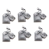 teabag charms, silverware silverplate, 09212, tea bag, tea, kitchen, Bsue Boutiques, jewelry making, jewelry supplies, tea charm, teabag charm, charm, antique silver, US made, nickel free jewelry supplies,