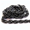 jewelry chain, rope chain, 04042, gunmetal, antique black, B'sue Boutiques, nickel free, US made, brass jewelry supplies, vintage jewelry supplies, beading supplies, bracelet chain, necklace chain