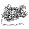 jewelry chain, oval link chain, antique silver, 05820, jewelry making supplies, vintage jewelry supplies, brass chain, antique silver chain,