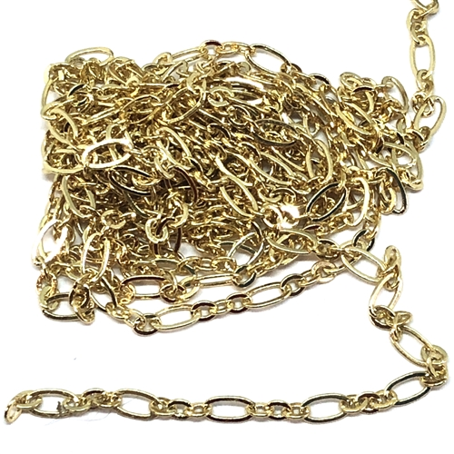 jewelry chain, oval link chain, gold plate, 05821, jewelry making supplies, vintage jewelry supplies, brass chain, antique gold chain, jewelry making, bsueboutiques
