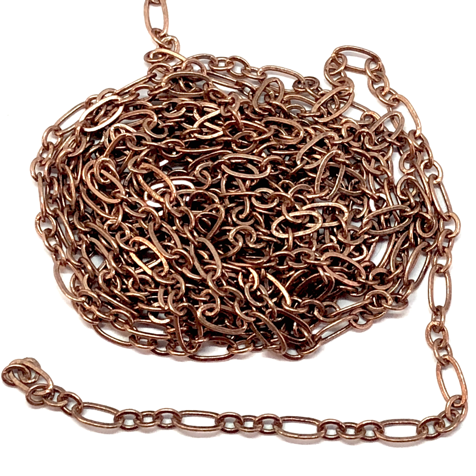 jewelry chain, oval link chain, antique copper, 05822, jewelry making supplies, vintage jewelry supplies, brass chain, antique copper chain, jewelry making, bsueboutiques