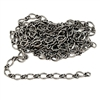 jewelry chain, twisted chain, 06028, antique silver, B'sue Boutiques, nickel free, US made, brass jewelry supplies, vintage jewellery supplies, beading supplies, bracelet chain, necklace chain