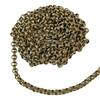 line rolo textured chain, antique brass, antique brass chain, rolo chain, chain, textured chain, line rolo chain, soldered chain, 5mm links, textured designed link chain, brass chain, jewelry chain, jewelry findings, vintage supplies, jewelry making,07506