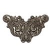 winged centerpiece, choxie, 09887, chocolate brass, plaque, centerpiece, focal, jewelry supplies, B'sue Boutiques, wings, large stamping, brass stamping