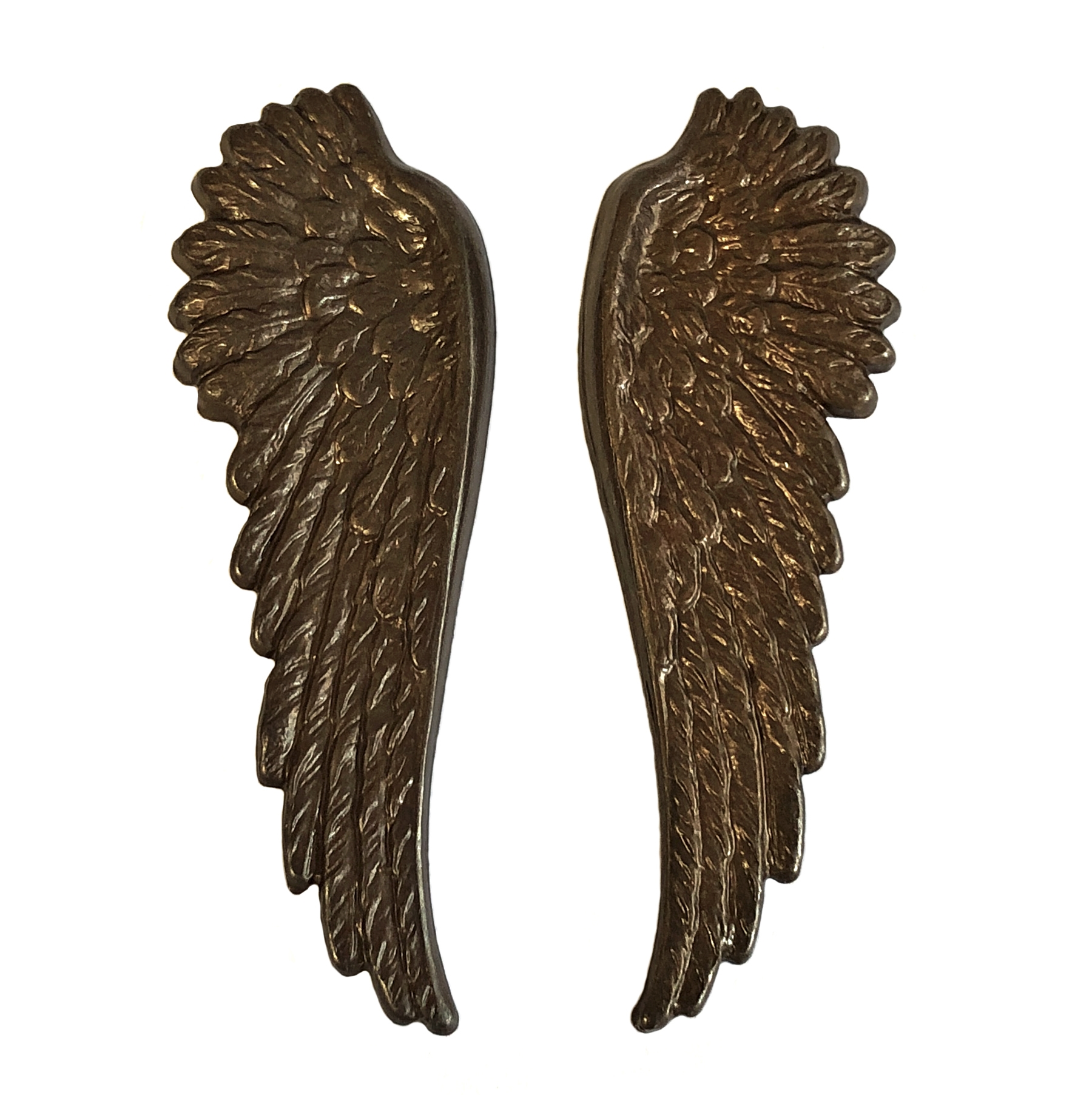 gossamer wings, chocolate brass, wings, brass stamping, steampunk, steampunk wings, brass, chocolate plated brass, jewelry wings, US made, nickel free, 52x17mm, jewelry making, jewelry supplies, vintage supplies, B'sue Boutiques, 09953
