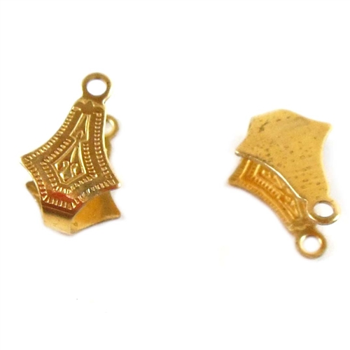 brass bail, jewelry connectors, jewelry making