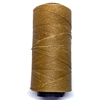 Almond Tan waxed Brazilian cord, knotting twine, craft cord, waxed cord, almond, jewelry cord, 144 meters, jewelry making, vintage supplies, jewelry supplies, B'sue Boutiques, 02079, tan cord