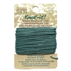 sea-green waxed Brazilian cord, knotting twine, craft cord, waxed cord, sea-green cord, waxed cord, 15 yards, jewelry cord, 13.7 meters, jewelry making, vintage supplies, jewelry supplies, B'sue Boutiques, jewelry waxed cord, 02450