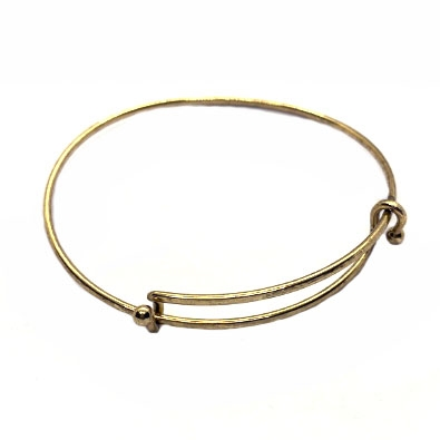 wire bracelets, charm bracelets, antique gold, 01752, B'sue Boutiques, nickel free bracelets, US made bracelets, vintage jewelry supplies, jewelry making supplies