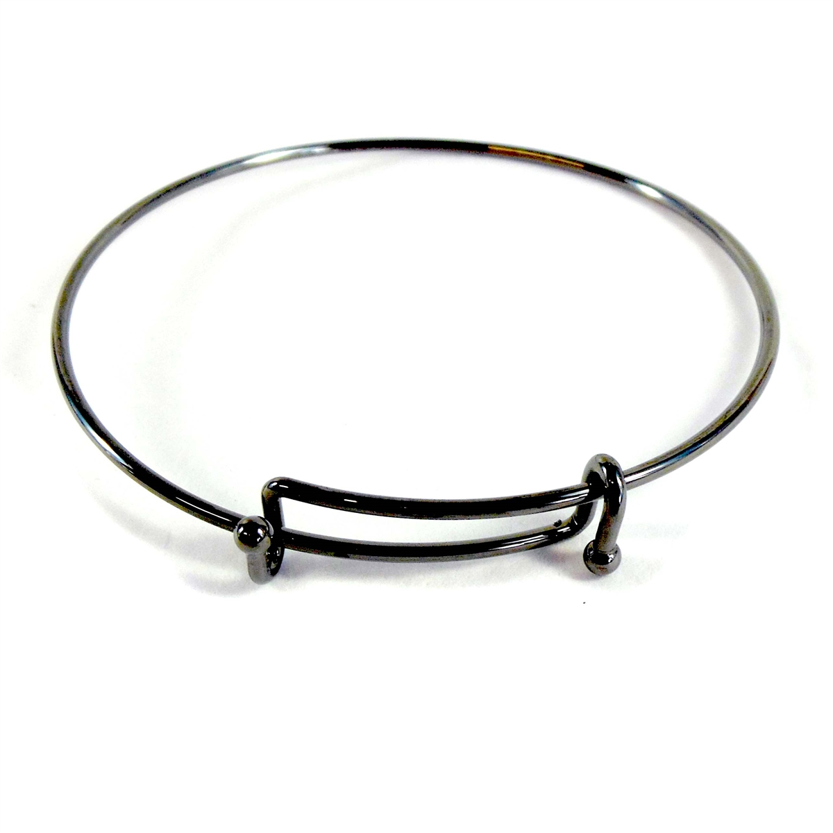 piece expandable adjustable image in products charm my bangles bracelet is a wire of heart heaven bangle