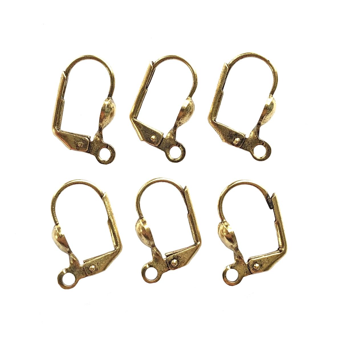 blue zircon studs ear ring studs blue gold plated zircon