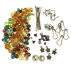 earring kit, earrings, beads, 08762, brass ox, findings, earring findings, fish hooks, Bsue Boutiques, jewelry supplies, jewelry making, kit