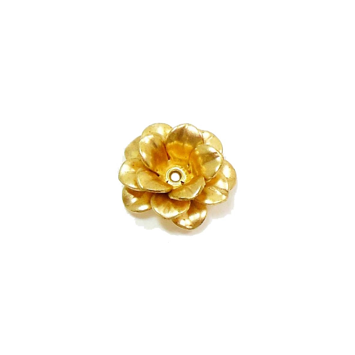 brass flowers, tea roses, jewelry making, 13mm, brass rose, rose, flower