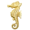brass seahorse, beach jewelry,  jewelry making, 03323, B'sue Boutiques, nickel free, US Made, jewelry supplies, jewelry making, vintage jewelry supplies, brass jewelry parts, mold making jewelry