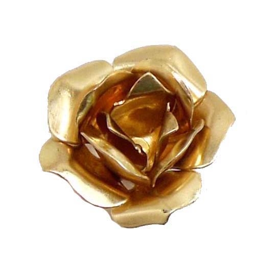 brass flowers, tea roses, raw brass, 03742, vintage jewelry supplies, brass jewelry parts, layered flowers, jewelry making supplies, antique brass, riveted flowers, brass roses, 4 layered flowers