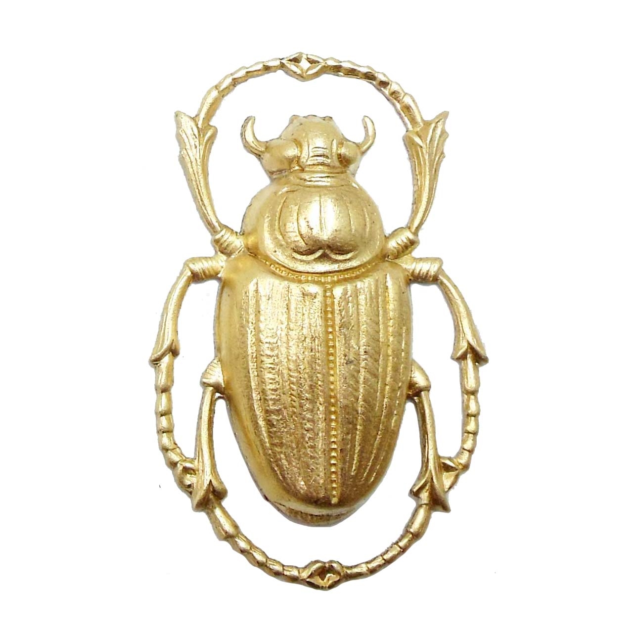 brass beetle, bug jewelry, jewelry supplies, 06271, insect, bugs, beetle, beetles, scarab, animals