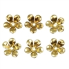 brass flower, 06472, unplated brass, raw brass, 12mm, jewelry making, jewelry supplies, B'sue Boutiques