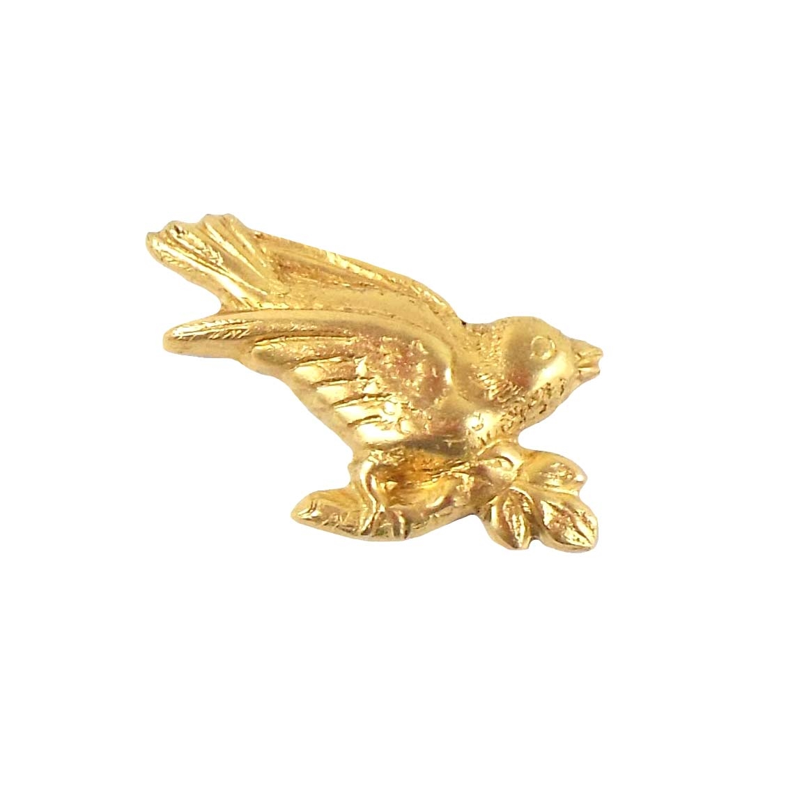 brass birds, bird stampings, jewelry making, raw, B'sue Boutiques, 06503, antique brass, vintage jewelry supplies, brass jewelry parts,bird jewelry