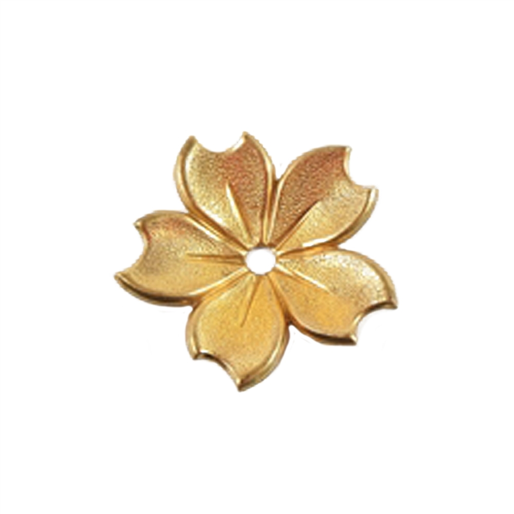4 Antiqued Brass OX Victorian Rose Flower Stamping Pendant Drop Charm Finding Large 25mm