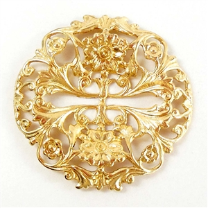 brass filigree,Victorian jewelry,jewelry supplies