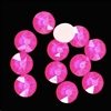 4mm, 16ss, Glow in the Dark, Electric Pink, 09383, rhinestone, stone, Czech glass, flatback, flatback rhinestone, 4mm, flatback, sparkle, jewelry making, jewelry findings, B'sue Boutiques, vintage supplies, jewelry supplies