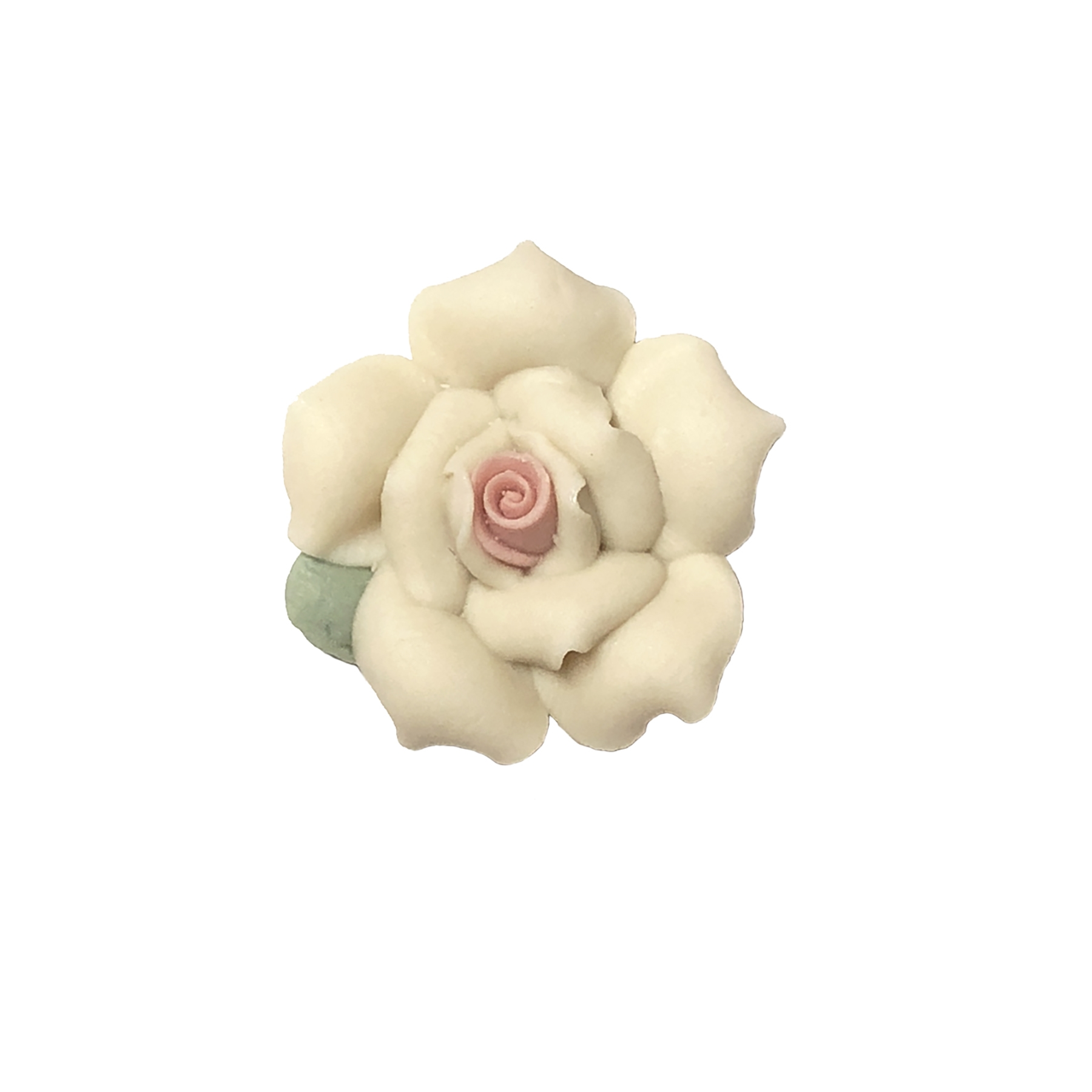 ceramic flowers, jewelry supplies, handmade, 06171, jewelry making supplies, vintage jewelry supplies, handmade flowers, B'sue Boutiques, ceramic roses, handmade jewelry, bisque rose, porcelain rose