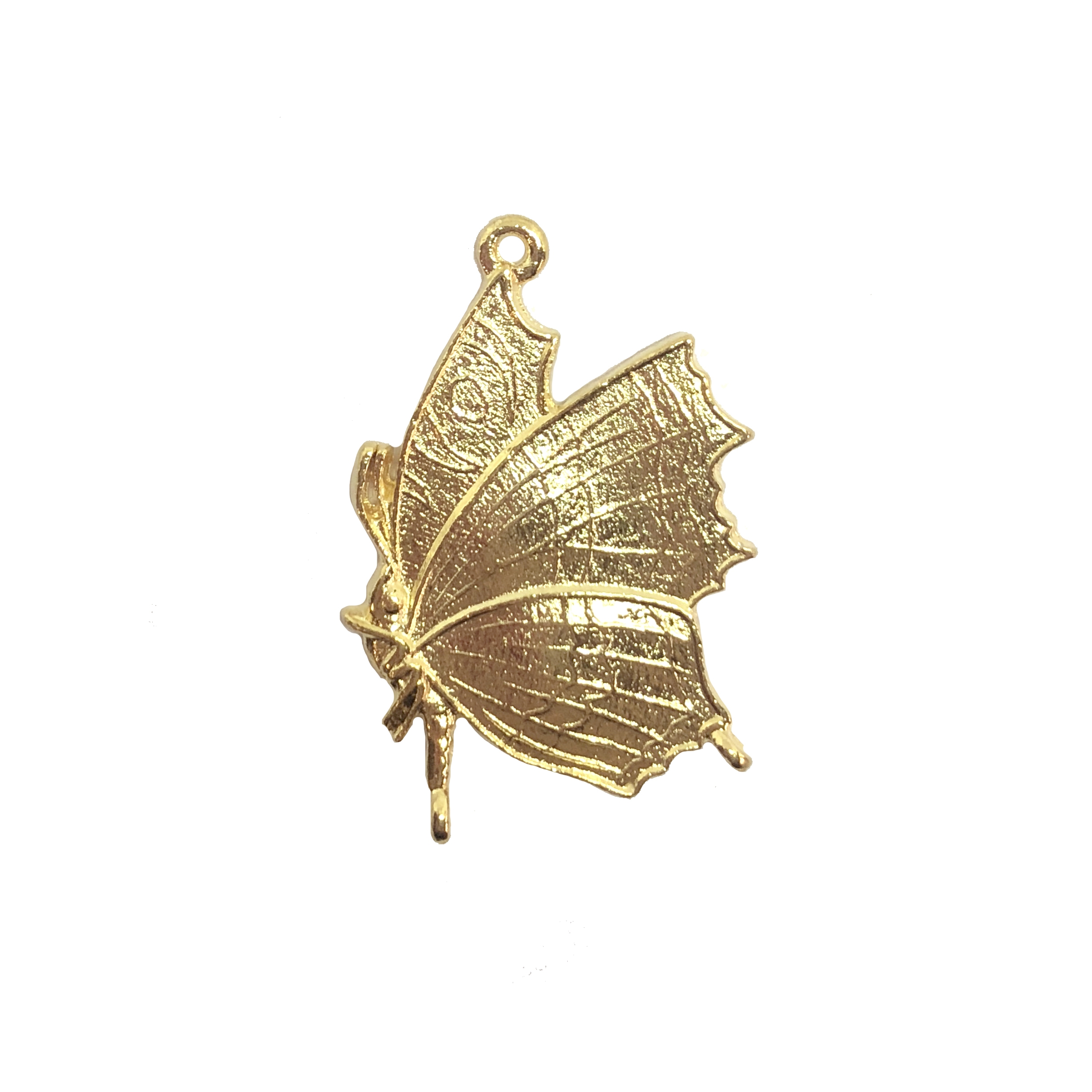 butterfly charm, butterfly, 22K gold finish, lead free pewter castings, B'sue by 1928, 1928 Company, designer jewelry findings, vintage jewelry parts, 1928 Jewelry, charm, B'sue Boutiques, vintage French findings, US made, pendant, charm, bug, 08544