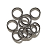 Heavy Jump Rings, 15 mm, 15 gauge, 02823,gunmetal finish, B'sue Boutiques, Jewelry Supplies, extra large jump rings, thick jump rings, purse hardware, heavy silver jump rings, B'sue Boutiques, designer jump rings, dangling hoop earrings, purse hardware