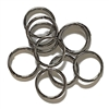 Heavy Jump Rings,  12mm, 13 Gauge, 02827, Jewelry Findings, B'sue Boutiques, Vintage Supplies, Jewelry Supplies, Jewelry, extra large jump rings, thick jump rings, purse hardware, heavy gunmetal jump rings, B'sue Boutiques, designer jump rings