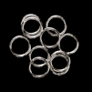 Heavy Jump Rings, 15 mm, 15 gauge, 02831, bright silver finish, B'sue Boutiques, Jewelry Supplies, extra large jump rings, thick jump rings, purse hardware, heavy silver jump rings, B'sue Boutiques, designer jump rings, dangling hoop earrings