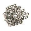 Jump Rings, 4mm, 18 gauge,  Antique Silver
