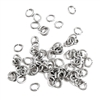 jump rings, jewelry supplies, 5x4mm, 21ga