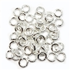 Jump Rings, 4mm, 18 gauge, Bright Silver, 05213, vintage jewelry supplies, jewelry making supplies, nickel free, US made, bsue boutiques