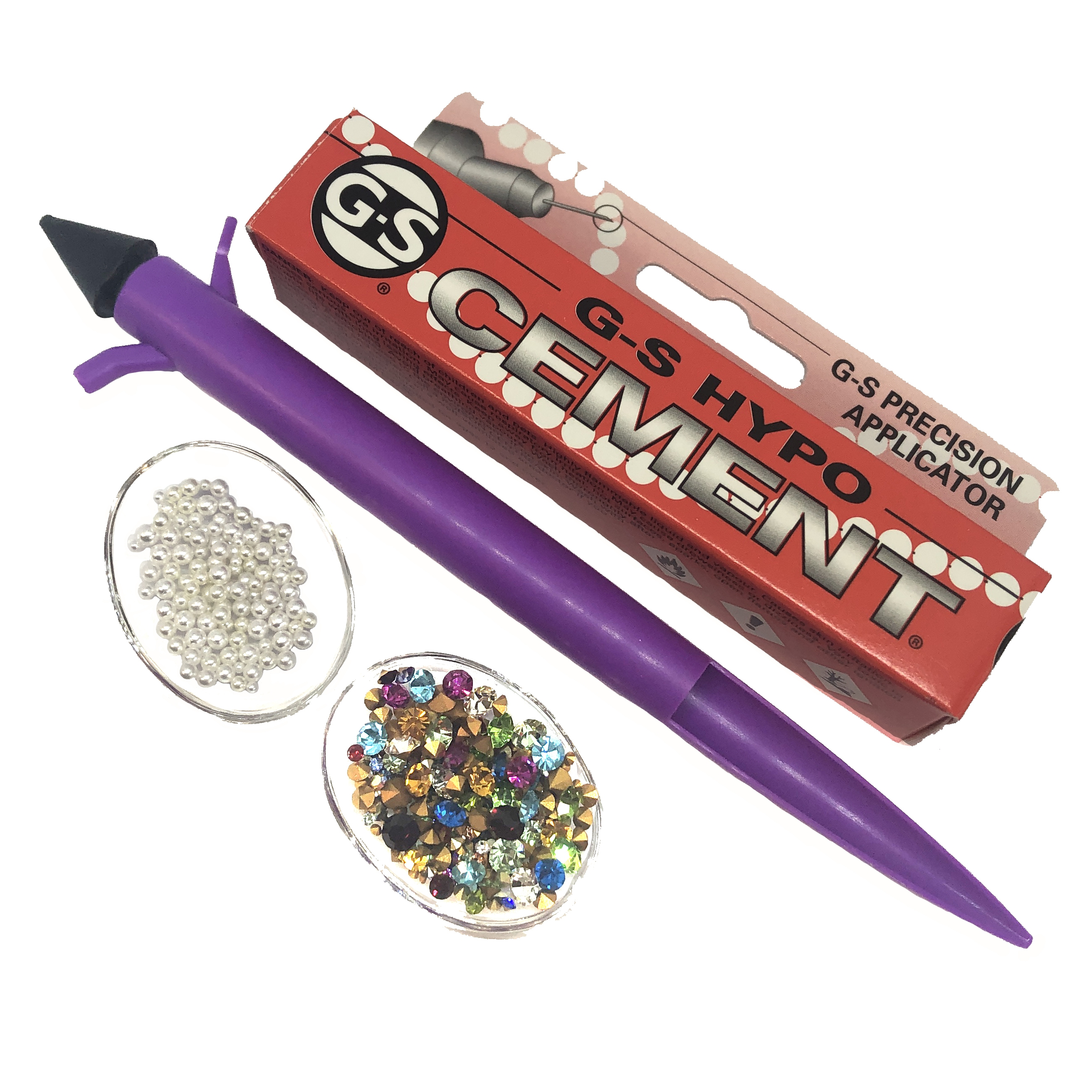 pick up artist kit, chatons, pearls, 08939, embellishments, accents, pick up tool, assorted sizes, multi-color, Bsue Boutiques, jewelry supplies, jewelry making, kit