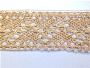 antique Irish lace, cluny lace, 09235, vintage lace, ecru lace, lace trim, cluny lace trim, crocheted lace trim