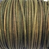 antique green Indian leather, beading supplies, craft cord, leather cord, green, jewelry leather, cow leather, jewelry cord, 2mm thick, jewelry making, vintage supplies, jewelry leather cord, jewelry supplies, B'sue Boutiques, 01292, leather