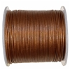 copper Indian leather, round beading jewelry, craft cord, leather cord, copper,  jewelry leather, leather, jewelry cord, 0.5mm thick, jewelry making, vintage supplies, jewelry leather cord, jewelry supplies, B'sue Boutiques, 05107
